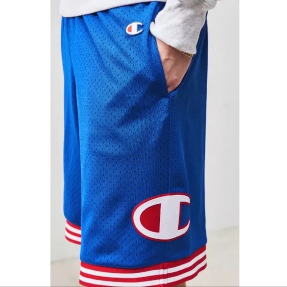ever popular most popular wide varieties 🏀 Champion mesh blue basketball shorts running S NWT